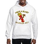 Happy Firecracker Hooded Sweatshirt