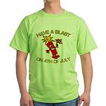 Happy Firecracker Green T-Shirt