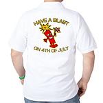 Happy Firecracker Golf Shirt
