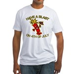 Happy Firecracker Fitted T-Shirt