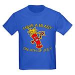 Happy Firecracker Kids Dark T-Shirt