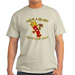 Happy Firecracker Light T-Shirt