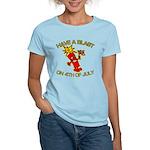 Happy Firecracker Women's Light T-Shirt
