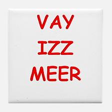 YID12 Tile Coaster