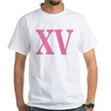 Quinceanera Mens White T-shirts