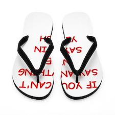 YIDDISH Flip Flops