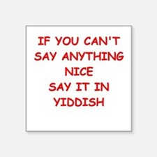 YIDDISH Sticker