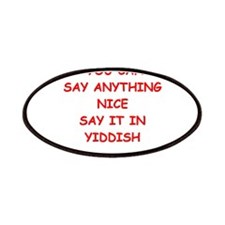 YIDDISH Patches