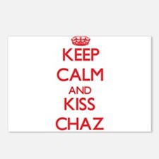 Keep Calm and Kiss Chaz Postcards (Package of 8)