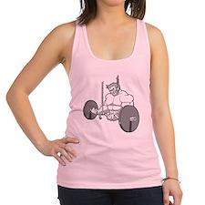 Get Big or Die Trying Shirt Racerback Tank Top