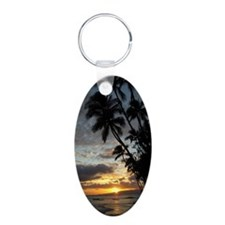 Hawaiian Sunset Keychains