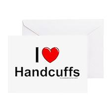 Handcuffs Greeting Card