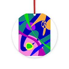 Philosophical Man Digital Abstract Pattern Ornamen