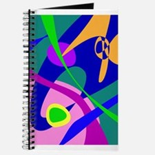 Philosophical Man Digital Abstract Pattern Journal