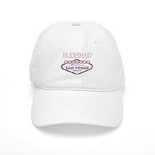 Rose Color Las Vegas Bridesmaid Baseball Cap