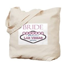 Rose Color Las Vegas BRIDE Tote Bag