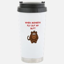 monkeys Travel Mug