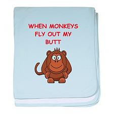 monkeys baby blanket