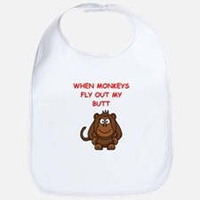 monkeys Bib