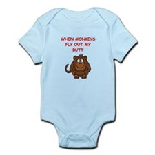 monkeys Body Suit