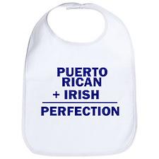 Puerto Rican + Irish Bib