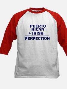 Puerto Rican + Irish Kids Baseball Jersey