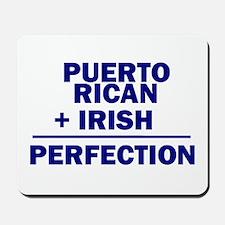 Puerto Rican + Irish Mousepad