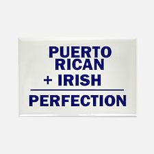 Puerto Rican + Irish Rectangle Magnet