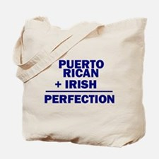 Puerto Rican + Irish Tote Bag