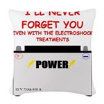 forget Woven Throw Pillow