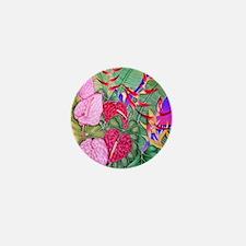 Cute Floral botanical Mini Button