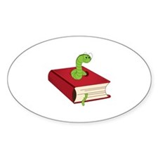 BookWorm Decal