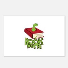 BookWorm Postcards (Package of 8)
