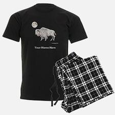 White Buffalo Full Moon Pajamas