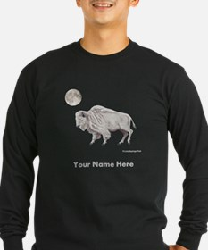 White Buffalo Full Moon Long Sleeve T-Shirt