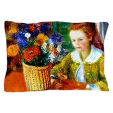 Glackens - The Breakfast Porch Pillow Case