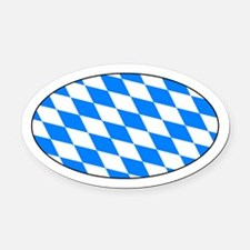 Bayern Raute Automagnet - Bavarian Lozenge Magnet