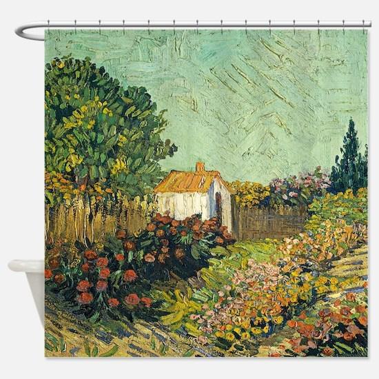 Landscape By Van Gogh Shower Curtain