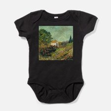 Van Goghs Landscape Baby Bodysuit