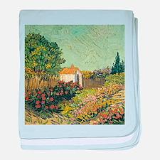 Van Goghs Landscape baby blanket