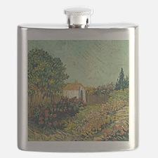 Van Goghs Landscape Flask