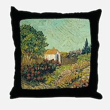 Van Goghs Landscape Throw Pillow