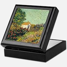 Van Goghs Landscape Keepsake Box