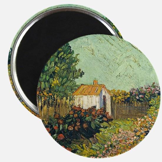 Van Goghs Landscape Magnets