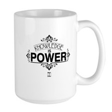 Knowledge is Power Mug