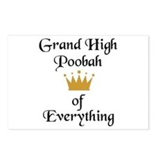Grand High Poobah Postcards (Package of 8)