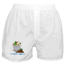 Compost Happens Boxer Shorts