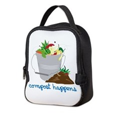 Compost Happens Neoprene Lunch Bag