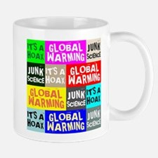 Global Warming Hoax Mugs