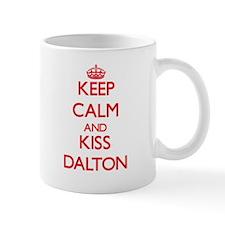 Keep Calm and Kiss Dalton Mugs